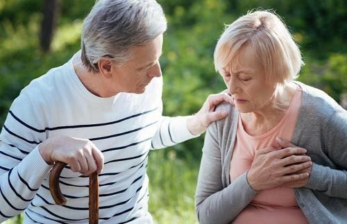 Bệnh tim mạch thường có các triệu chứng như: đau thắt ngực, rối loạn nhịp tim, huyết áp tăng hoặc giảm đột ngột,...