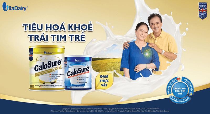 """Bổ sung 2-3 ly sữa tốt cho tim mạch Calosure Gold mỗi ngày, người cao tuổi đã cung cấp nguồn dinh dưỡng """"vàng"""" giúp cơ thể khỏe mạnh, phòng ngừa bệnh tim mạch, nâng cao tuổi thọ."""