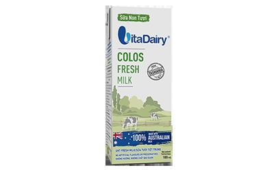 Quà tặng từ VitaDairy Colos Fresh Milk