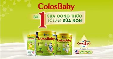 Colosbaby - Số 1 Sữa Công Thức Bổ Sung Sữa Non