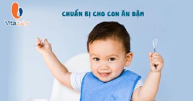 VitaDairy Mách Mẹ Bộ Dụng Cụ Ăn Dặm Cho Bé Mẹ Cần Chuẩn Bị