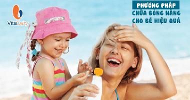 5 Cách Chữa Bỏng Nắng Cho Trẻ Hiệu Quả