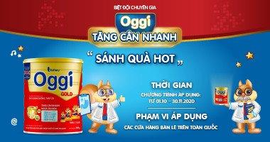 """""""Tăng Cân Nhanh - Sánh Quà Hot"""" Cùng Biệt Đội Chuyên Gia Oggi"""