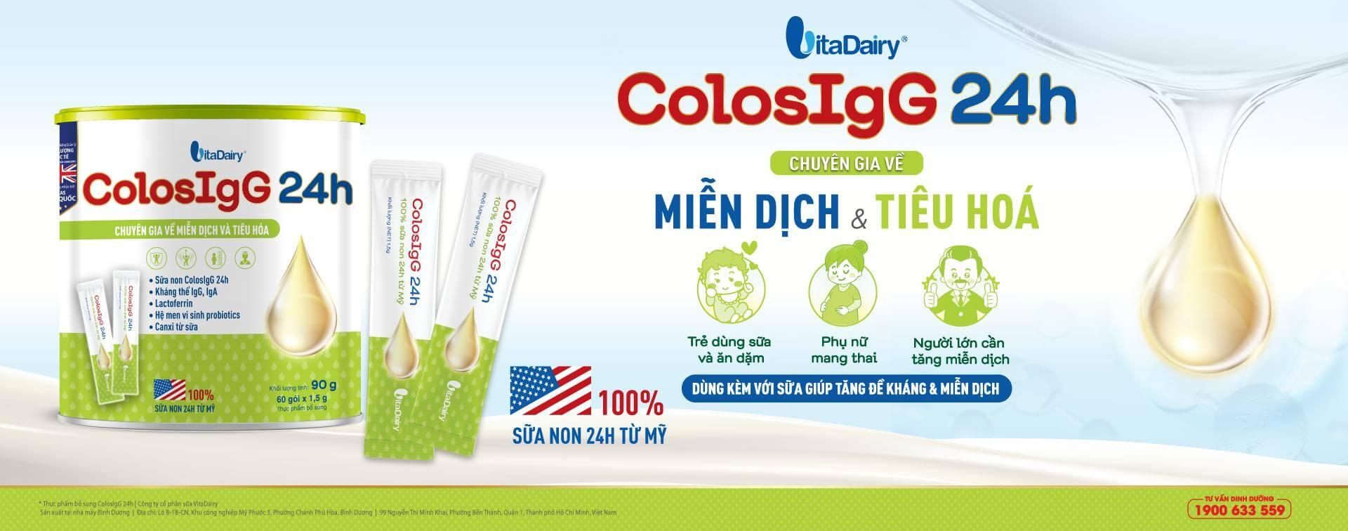 ColosIgG 24h dạng gói