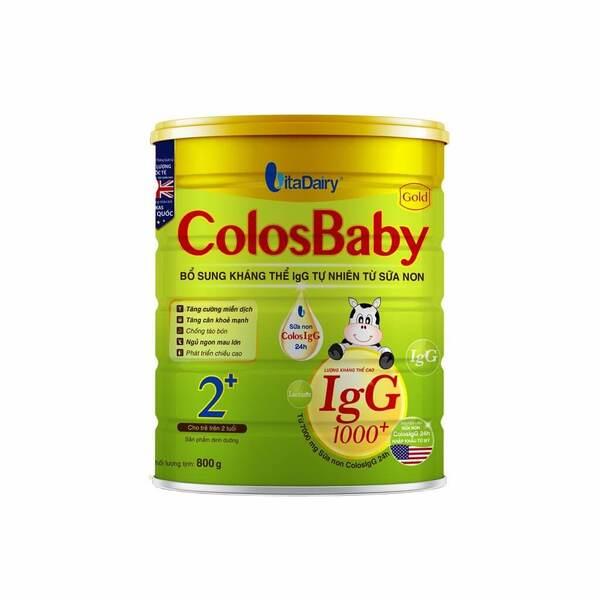 ColosBaby Gold 2+ - Sữa tăng miễn dịch hàng đầu dành cho bé