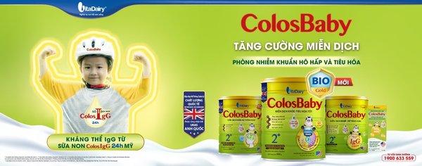 Đại Gia Đình ColosBaby bổ sung kháng thể IgG tự nhiên từ sữa non
