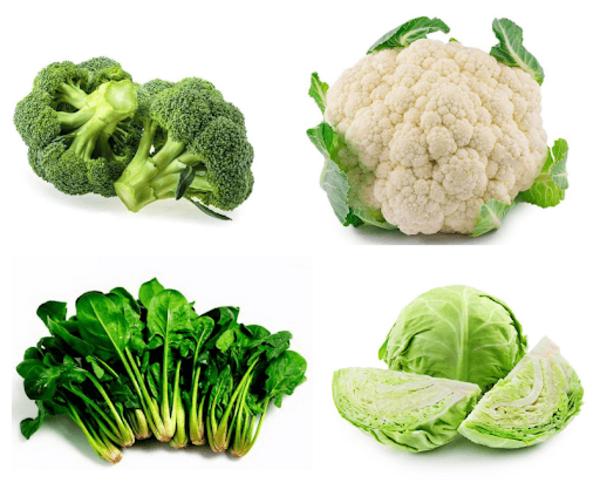 Các loại rau giúp tăng cường hệ miễn dịch cho trẻ